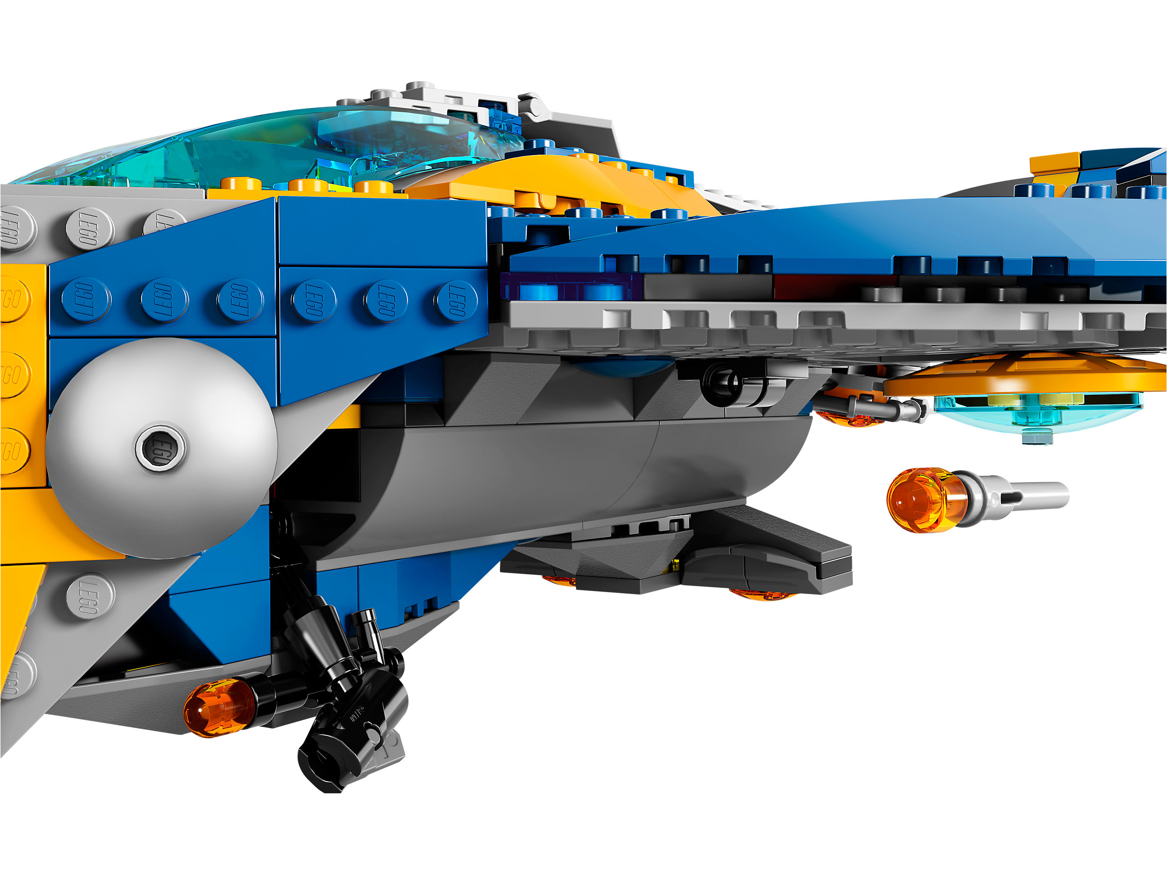 Lego guardians of the galaxy raumschiff