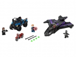 LEGO® Marvel Super Heroes Jagd auf Black Panther (76047-1) released in (2016) - Image: 1