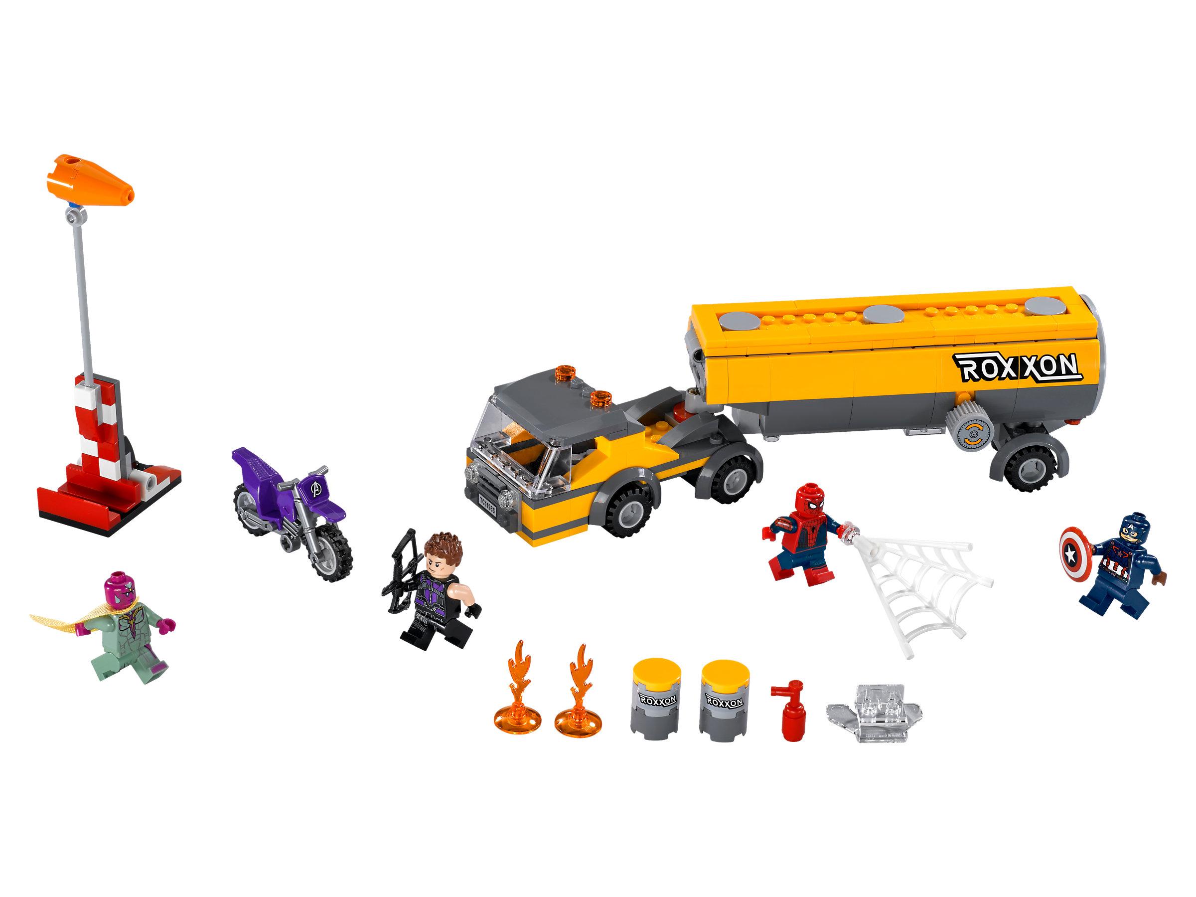 LEGO® Super Heroes 76067 Tanklaster Überfall Tanker Truck Takedown  NEU//NEW