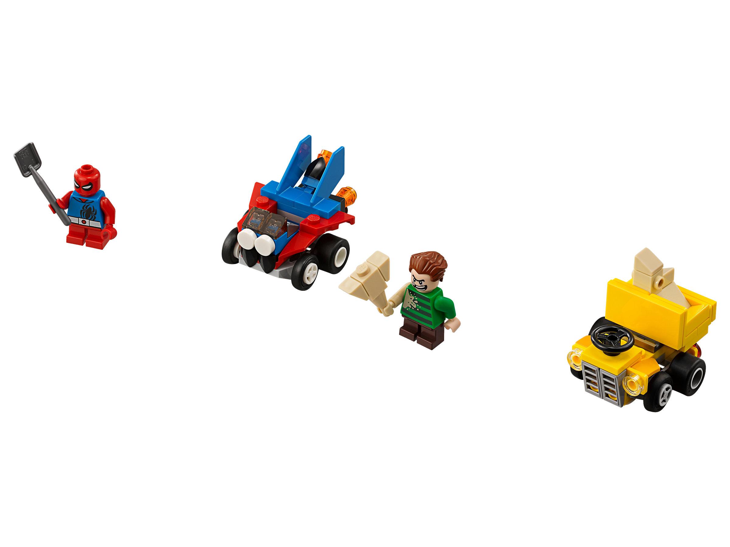 Mighty Micros Scarlet Spider Vs Sandman 76089 1 Lego 76064 Super Heroes Man Green Goblin Marvel