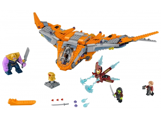 LEGO® Marvel Super Heroes Thanos: Ultimate Battle (76107) released in (2018) - Image: 1