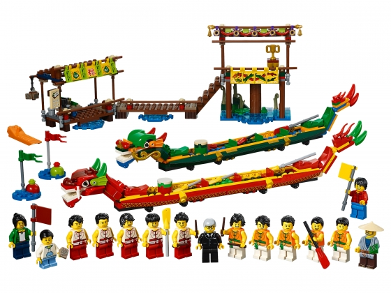 LEGO® Classic Dragon Boat racing (80103) released in (2019) - Image: 1