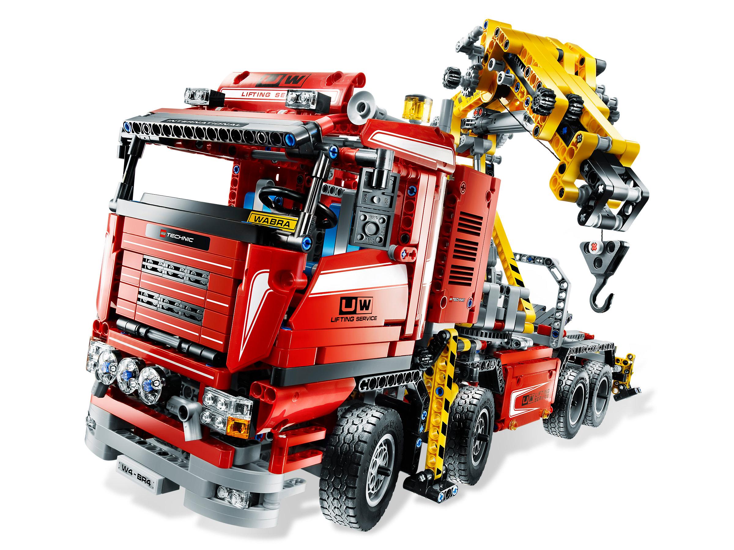 truck mit power schwenkkran 8258 1. Black Bedroom Furniture Sets. Home Design Ideas