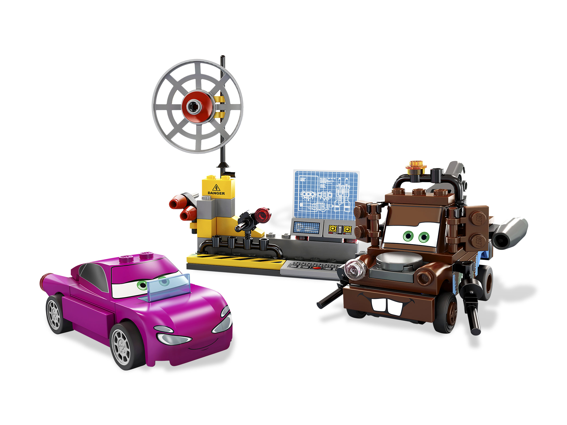 Maters Spy Zone 8424 1 Ultimate Race Set 9485 Lego Cars Released In 2011