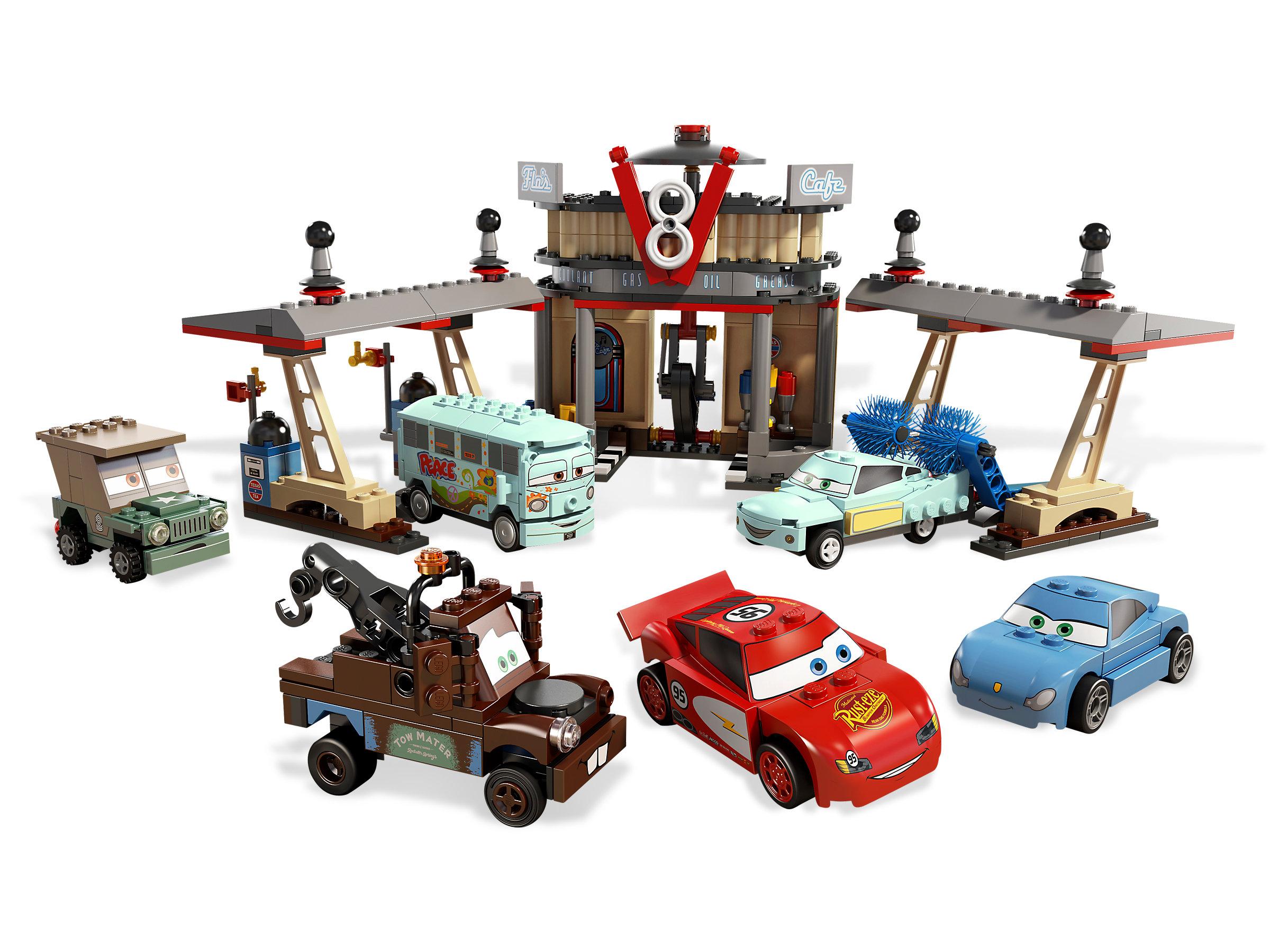 Lego Cars Flo S V8 Cafe 8487