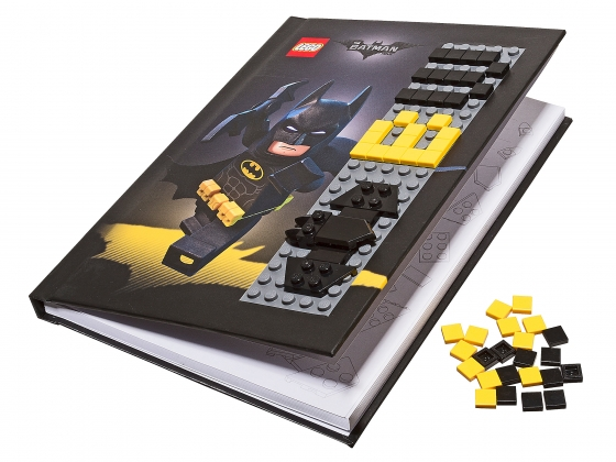 LEGO® Gear THE LEGO® BATMAN MOVIE Batman™ Notebook with Stud Cover (853649) released in (2017) - Image: 1