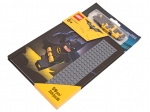 LEGO® Gear THE LEGO® BATMAN MOVIE Batman™ Notebook with Stud Cover (853649) released in (2017) - Image: 2