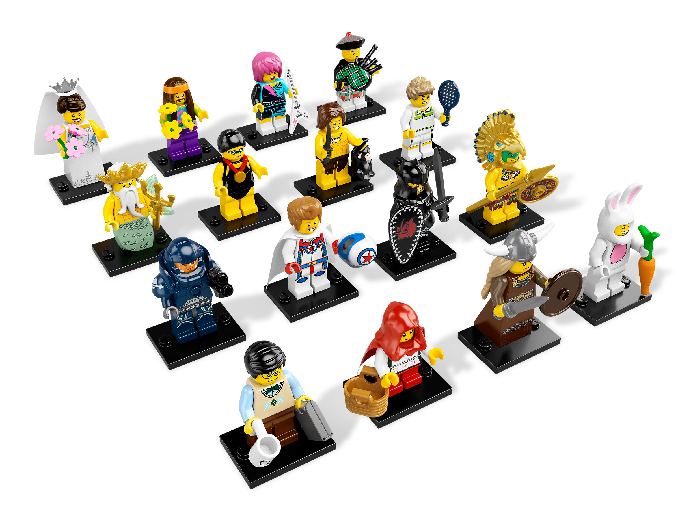 """~ The /""""BRIDE/"""" ~ SEALED PACK 8831 LEGO MINIFIGURES SERIES 7 2012"""