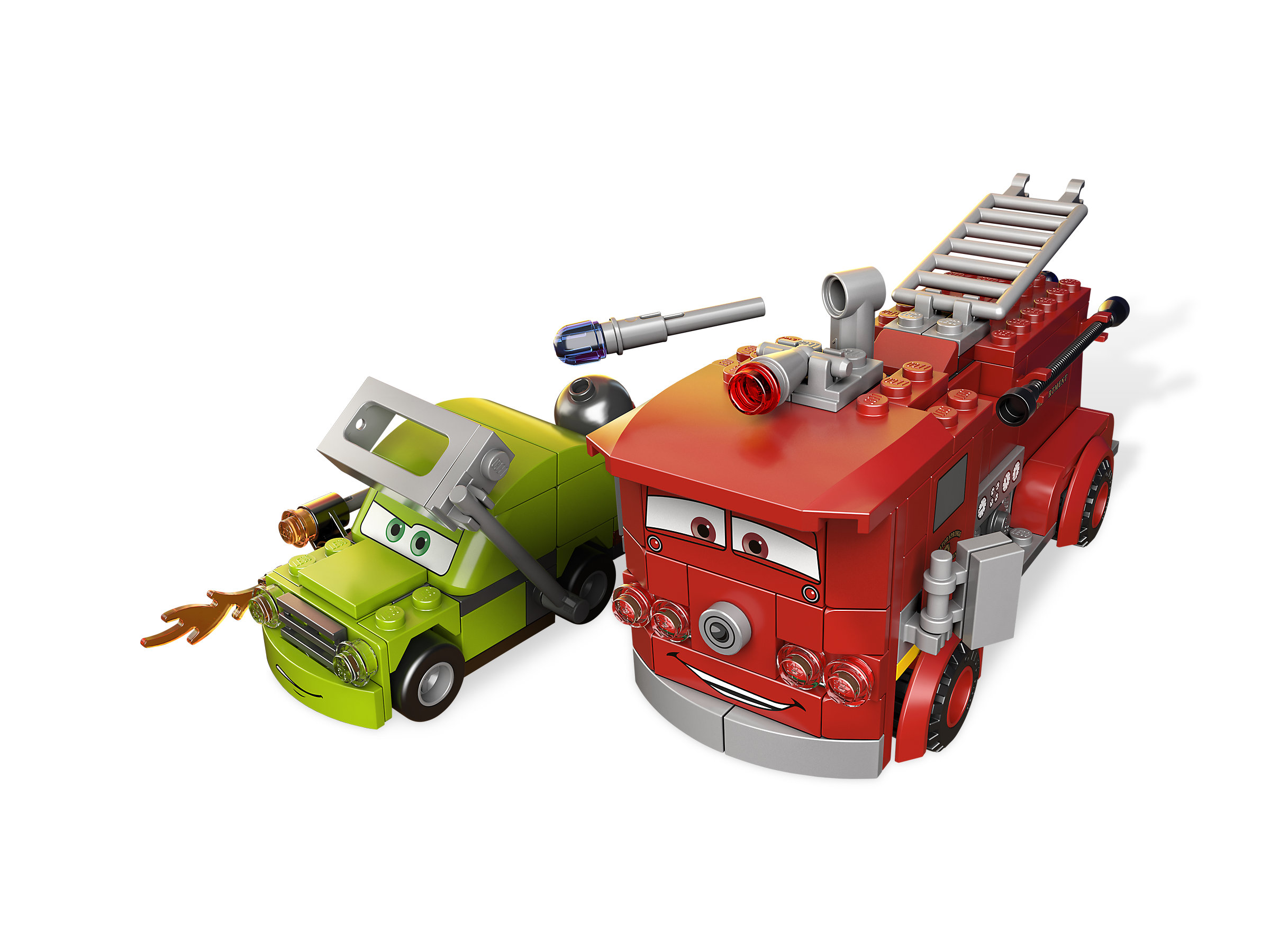 Reds Water Rescue 9484 1 Ultimate Race Set 9485 Lego Cars Released In 2012